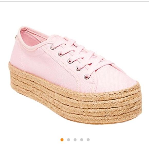 629095499c0 💗STEVE MADDEN💗Lace Up Sneaker w Espadrille heel